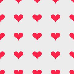 Hearts retro texture