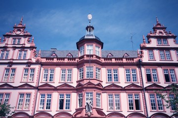 Mainz, Germany. Cross processed filtered tone.