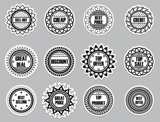 Set sticker for Selling