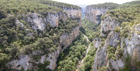 Desfiladero Foz de Arbaium, Navarra, España