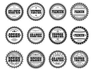Collection award stamp for design studios