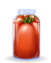 verdura in conserva