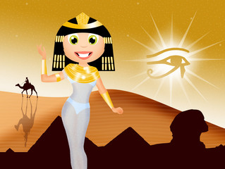 Cleopatra cartoon