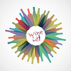Wine List Restaurant Catering Gastroservice Logo