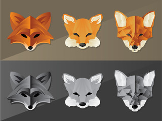 Fox Face Graphics