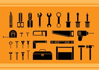 Black tool kits