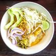 Khao Soi Gai, curry noodles , Thai food