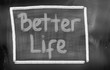 canvas print picture - Better Life Concept