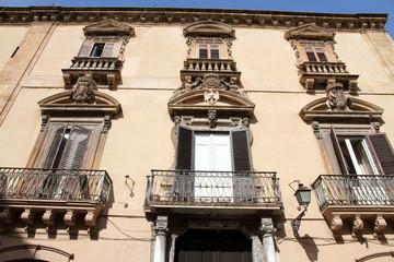 Palazzo Fardella Trapani Sicily Italy