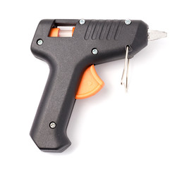 Glue Hand Gun on White background