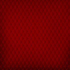 Abstract red background in baroque padding style