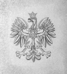 Poland Emblem - eagle with crown