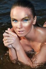 Hot girl on the beach