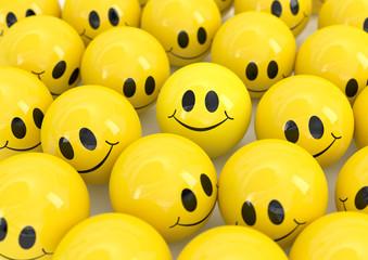 gelbe smileys