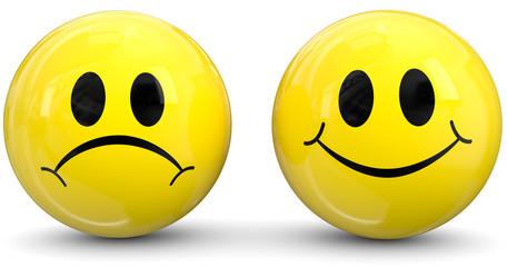 Smiley positiv negativ