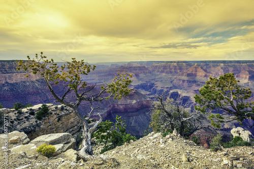 Fototapeta Morning light at Grand Canyon