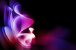 Bright abstract background for design