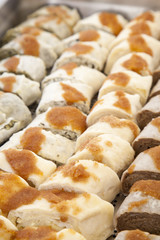 Ajdovi struklji, tasty sweet traditional Slovenian cuisine