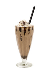 Milkshake chocolate coffee