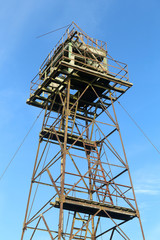 former Soviet border guard tower