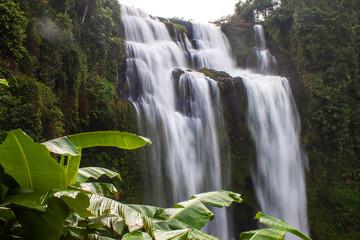 Tat Yuang waterfall in Laos
