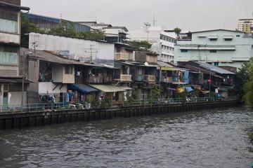 Canal in Bangkok, Thailand