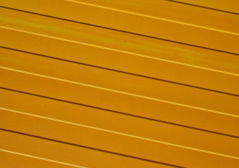 Background of yellow metal