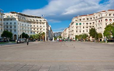 The central square
