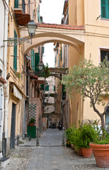 the arches of Sanremo