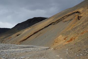 colline colorée