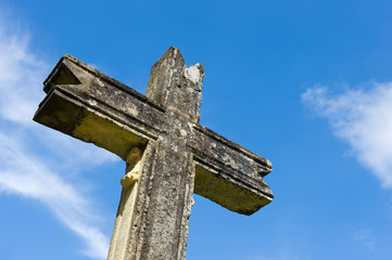 Cross of stone
