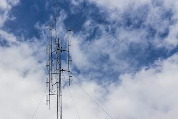 mast with sky