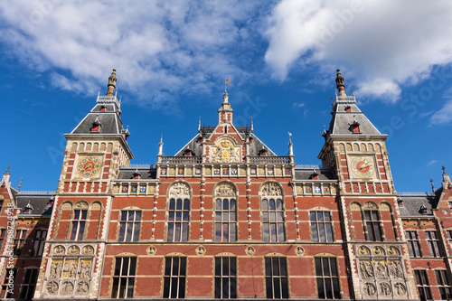 Fotobehang Amsterdam Amsterdam Centraal (Hauptbahnhof)