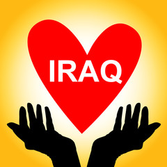 Love and peace for Iraq!