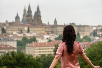 Contemplando la catedral