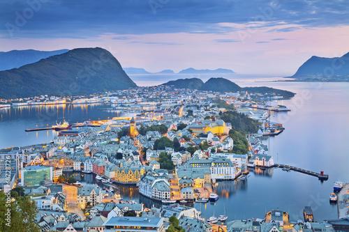 Alesund, Norway. - 68728726