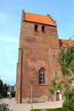 Borre kirke Møn  Danmark (Kirche in Borre Dänemark) poster