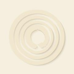 Zen circles design