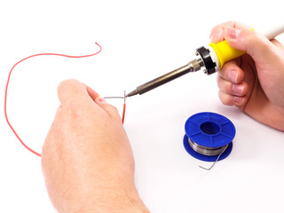 Soldering A Red Wire