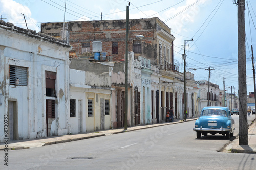Cienfuegos Street Scene - 68730793