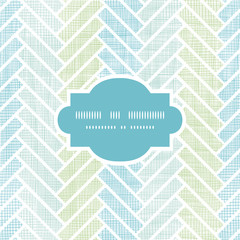 Abstract textile stripes parquet frame seamless pattern