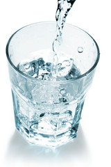 pure mineral water