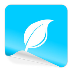 nature blue sticker icon