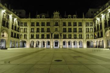 Santander by night