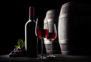 Wein-Stillleben