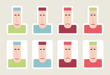 Stickers emoticons