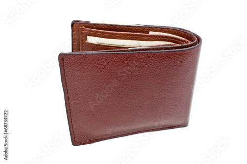 leather purse - 68734722