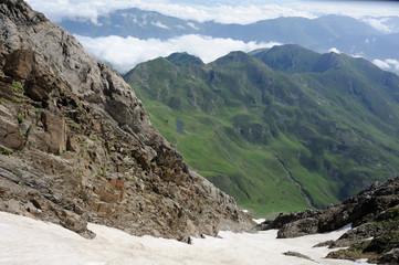 Hautes Pyrénées , en haut du Pic Du Midi de Bigorre