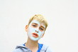 masque de beauté,purifiant pour la peau d'adolescent