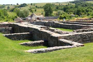 Roman archeological site, Felix Romuliana, Serbia.